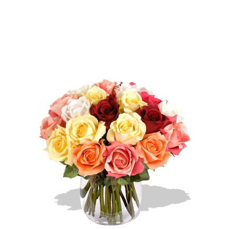 Image of 2 Dozen Assorted Roses