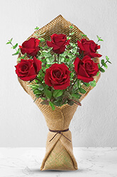 6 Long Stem Premium Rose Bouquet